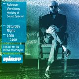 Adesse Versions on Rinse FM, May 16th 2015
