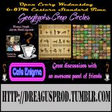Cafe Enigma-Geoglyphs and Crop Circles