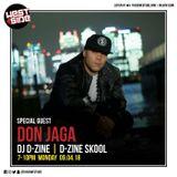 DON JAGA interview (air date: Monday 09 April 2018)