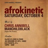 AFROKINETIC Warm-up w/Chris Annibell || 10.04.14