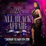 All Black Affair 2018 Mix - October 6th, 2018