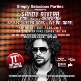 Simply Salacious Parties presents Sandy Rivera May 2015