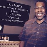 Dj Lighta Interviews SCIENTIST Live.