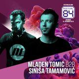 Mladen Tomic b2b Sinisa Tamamovic live @ Festival 84 by Exit Festival, Jahorina, BiH, 17.03.2018.