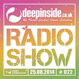 DEEPINSIDE RADIO SHOW 022 (Summer Collection 2014)
