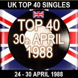 UK TOP 40 24-30 APRIL 1988