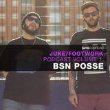 Juno Juke/Footwork Podcast Volume 1 by  BSN POSSE