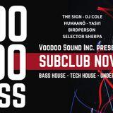 DJ Cole a.k.a. Hyricz @ Voodoo Bass (Subclub - Bratislava 30.11.2018) - live recorded set