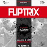 DJ Philly & 210 Presents - Trackside Burners Radio Show 159 - FLIPTRIX