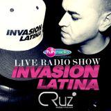 """DJ CRUZ @ FUN RADIO """"INVASION LATINA SHOW"""" 16/01/2015"""