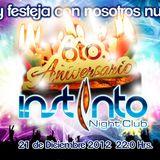 Iver Corleone - set live at instinto night club Aniversary 21-12-2012