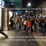 """Los Radialistas programa sobre """"Arte periferico"""" transmitido el día 4 de Abril 2017 por Radio FARO 9"""