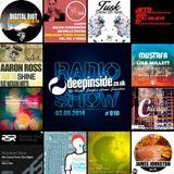 DEEPINSIDE RADIO SHOW 010 (Richard Earnshaw Artist of the week)