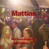 Mattias - Live from Kajplats 1, Storsjöyran 2015
