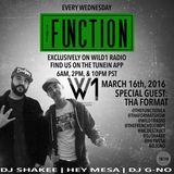 The Function (Episode 011) w/ DJ SHAKEE, HEY MESA, DJ GNO w/ guests DJ SWIFT & DESTRUCT (THA FORMAT)
