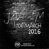 JAVI FM TOP MARCH 2016.