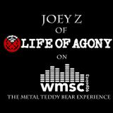 Joey Z of Life of Agony Interview 5-1-18