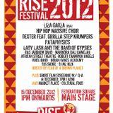 RISE REFUGEE 2012 [DJ Set]