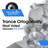 Richie Orton   Trance Ortogonality Most Voted   Episodes 070-079