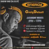 Craig Dalzell Live : Energy106 [Show 002]
