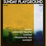 Prashanth Raj at // Sunday Playground // 18th June 2017.