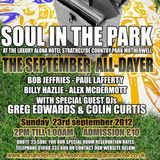 GREG EDWARDS AT SOUL IN THE PARK