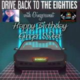 Drive Back To The Eighties With Ginger Sweet