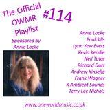 Playlist #114 Sponsored by Annie Locke
