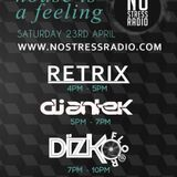 Antek Live on No Stress Radio 23-04-16
