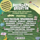 Boundary  Brighton Mix Competition- (SamB59)