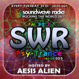 SWR Psy-Trance FM - hosted by Aesis Alien - Episode 005