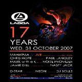 Mahatma (Live PA) @ Lagoa 17 Years - Liège Menen - 31.10.2007