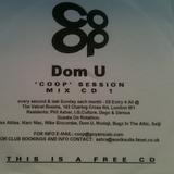 Dom U - Co-Op Session, Mix CD 1