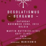 Frank Storm 23-10-2013 @ Desolat showcase bolgia