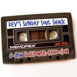 Kev's Soul Shack....Soul/Funk/House & Grooves 15/01/17..Soulpower-radio.com