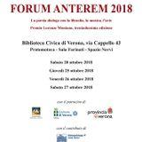 A Radioquestasera: Ranieri Teti, poeta e redattore. 13.10.2018