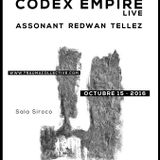 Redwan @ Trauma #08 Codex Empire live warmup (15.10.16)