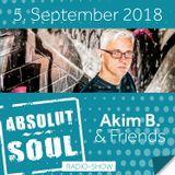 Absolut Soul Show /// 05.09.18 on SOULPOWERfm