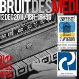 Le bruit des médias - Radio Campus Avignon - 12/12/11