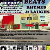 HipHopPhilosophy.com Radio presents Beats Rhymes And Laughs #1 - LIVE - 10-01-14