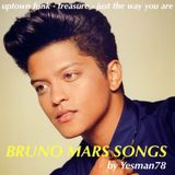 BRUNO MARS SONGS (uptown funk, treasure, just the way you are)