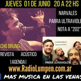 #16 Programa Completo Más Música en las Venas por Radio Lumpen 01 de Junio
