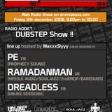 DrumTaBass :: Radio Addict Show / Dubstep Show !  12.12.2008