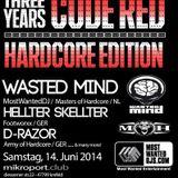 Der Antichristmann @ 3 Jahre Code Red @ Mikroport Krefeld 14.6.2014