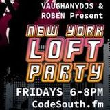 New York Loft Party Vinyl Radio Show Live on Codesouth.fm 28.11.2014