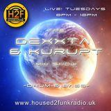 Dexxta & Kurupt Live on H2F Radio. Pure D&B
