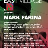 My live set extended from our night @eastvillageuk with Dj Mark Farina