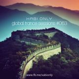 Xabi Only - Global Trance Sessions #063 [09-01-2013]