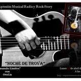 """""""Noche de Trova"""" OraLia en Expresión Musical y Rock Story lunes 14 de abril de 2014."""