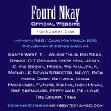 Hiphop / R&B / Club MIX MARCH 2015 by DJ Fourd Nkay